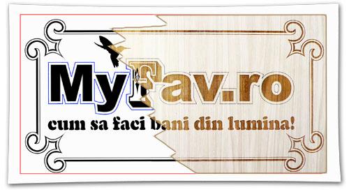 MyFav.ro - how to make money from light